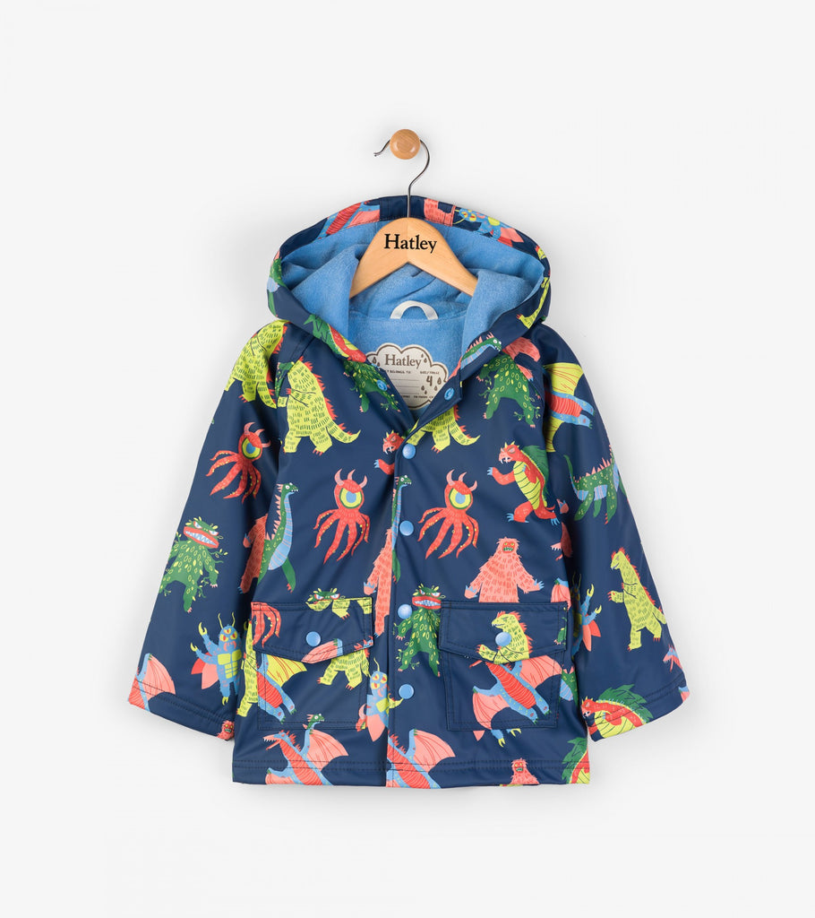 Hatley Raincoat - Mega Monsters Classic