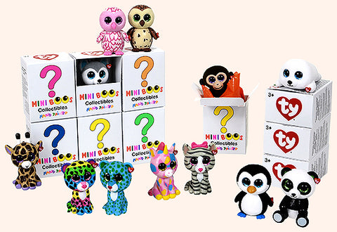 Mini Beanie Boo's Handpainted Collectibles