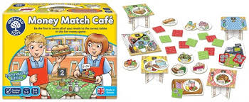 Money Match Cafe by Orchard Toys