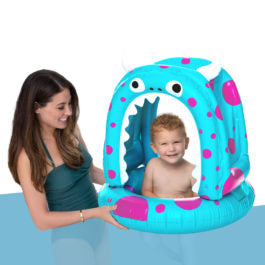 Monty the Monster Lil' Canopy Pool Float by BigMouth Inc