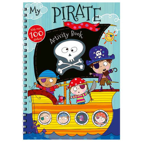 My Pirate Activity Book - With Over 100 Stickers!