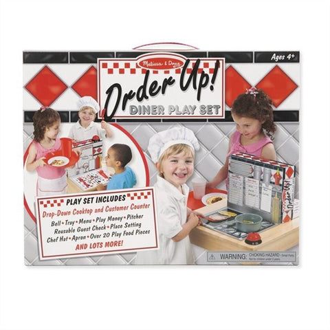 Melissa and Doug Dinner Play set - 4yrs+