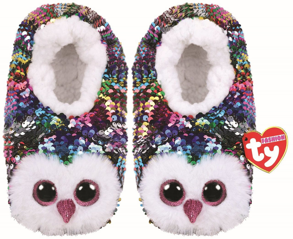 98869b73e5c Ty Beanie Boo Fashion - Owen Magic Flip Sequin Slippers – Carousel Kids