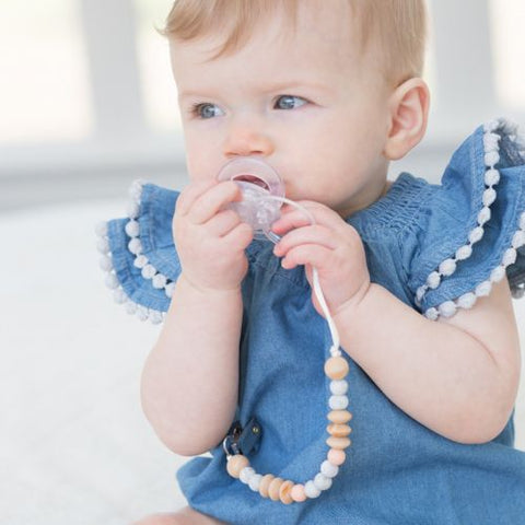 One. Good. Bead. Pacifier Clip by Bella Tunno - Silicone