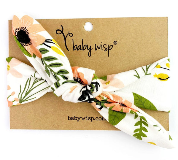 Bunny Ears Top Knot Headband by Baby Wisp