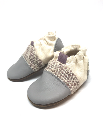 Nooks Design Infant Soft Sole Shoes - Petal