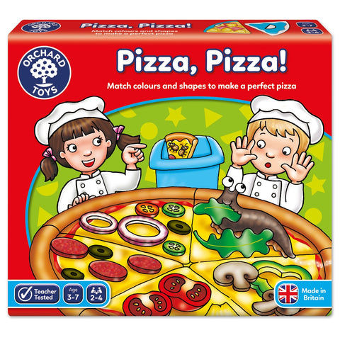 Pizza Pizza - Orchard Toys Educational Matching Game Ages 3 - 7 Years