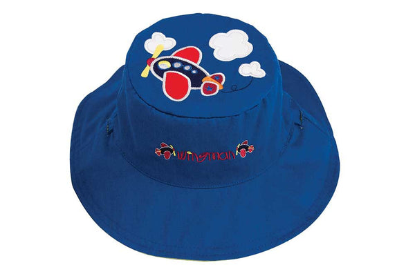 Luvali Plane / Train Reversible Sun Hat