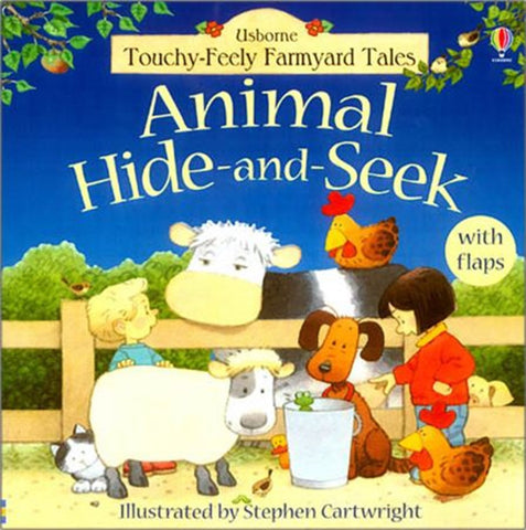 Animal Hide & Seek - First Lift the Flap Book