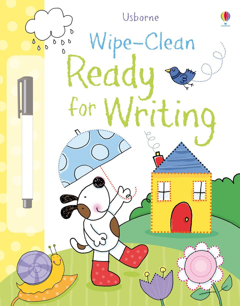 Wipe Clean Ready for Writing