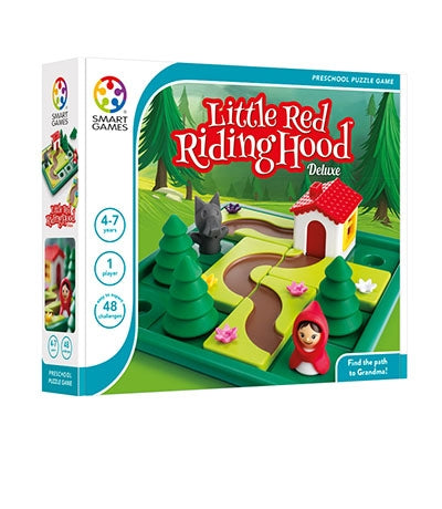 Little Red Riding Hood Deluxe - Smart Games 1 Player Puzzle Game 4 -7 Years