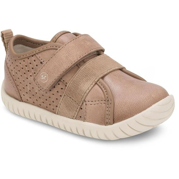 Stride Rite Riley Tan Leather Shoe