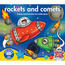 Rockets and Comets - Orchard Toys Educational Game Ages 4+