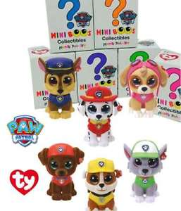 Mini Beanie Boo's Handpainted Collectibles - PAW PATROL