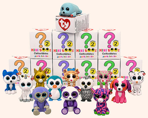 Mini Beanie Boo's Handpainted Collectibles - SEASON 2