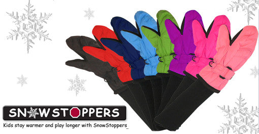 SnowStoppers Mittens - Coral Pink