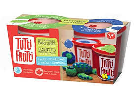 Tutti Frutti 2 Pack Modelling Dough - Sparkling Blueberry & Apple