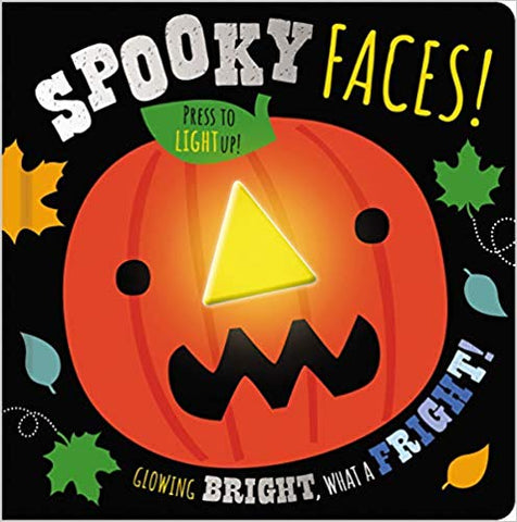 Spooky Faces - Light Up Board Book
