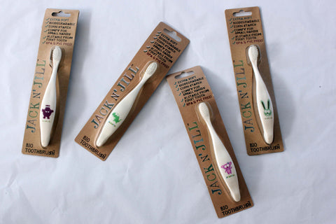 Jack n Jill Extra Soft Bio Toothbrush - Compostable & Biodegradable