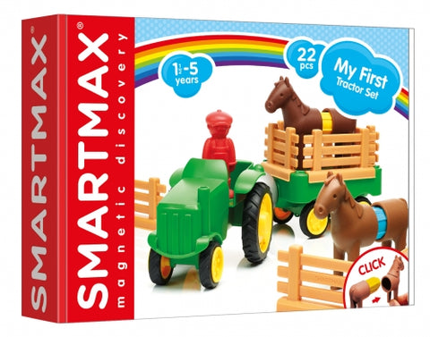 SmartMax Magnetic Play Set My First Tractor Set