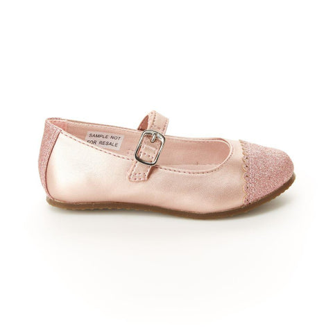 Stride Rite Valeria Light Pink - Mary Jane Style Dress Shoe