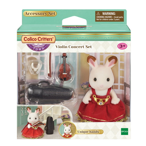 Calico Critters Town Series - Violin Concert Set