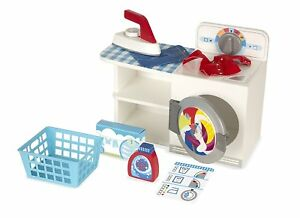 Melissa and Doug  Wash, Dry & Iron Play Set -  3+