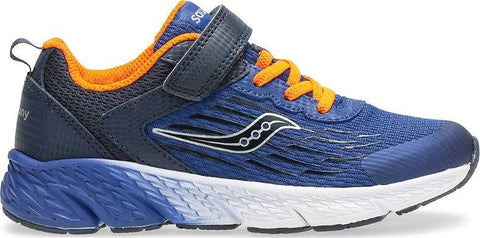 Saucony Wind Navy - Boys Running Shoe