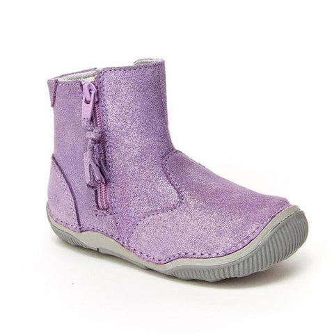 Stride Rite Zoe Light Purple Sparkle Boot