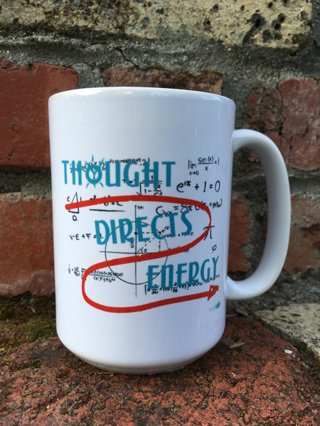 Thought Directs Energy Coffee Mug