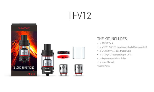 Smok - The Cloud Beast TFV8 - Online Headshop Smoke Shop