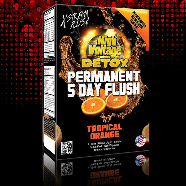 High Voltage Permanent 5 Day Flush Drink