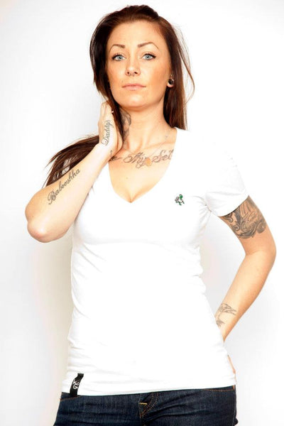 Women's V-Neck T-Shirt - Online Headshop Smoke Shop