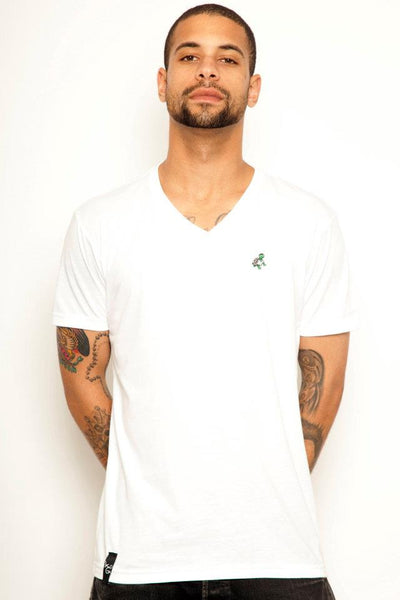 Men's Turtle V-Neck T-Shirt - Online Headshop Smoke Shop
