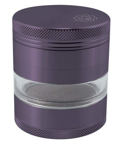 4 Piece Grinder with Window Fabric Top - Assorted
