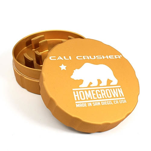 Cali Crusher Homegrown 2 Piece Hard Top Grinder - Online Headshop Smoke Shop