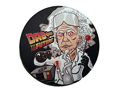 Dab to the Future - Dab Mat