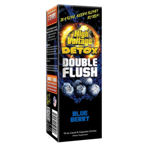 High Voltage Detox Double Flush - Online Headshop Smoke Shop