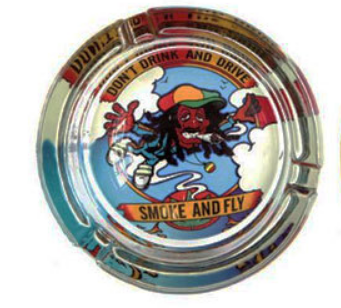 Glass Ash Tray - Various Designs - Online Headshop Smoke Shop