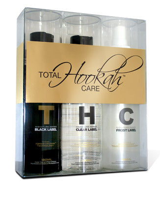 Total Hookah Care - 3 Pk Kit - Online Headshop Smoke Shop