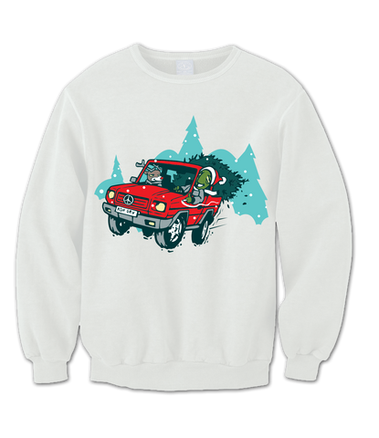 Kushmas Crewneck - Online Headshop Smoke Shop