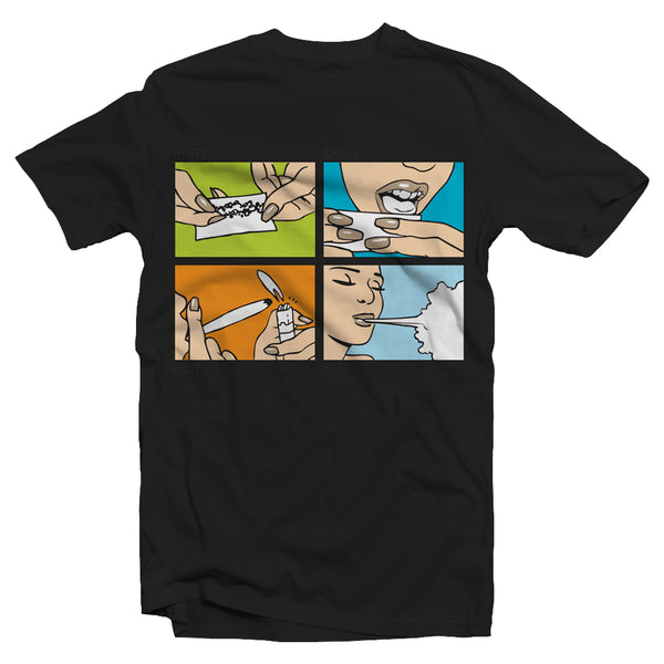 Men's Four Elements T-Shirt - Online Headshop Smoke Shop