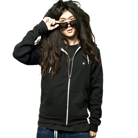 kush groove black zip up hoodie hoody streetwear on sale