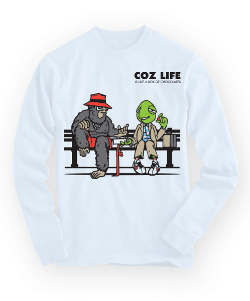 Men's Coz Life DeeCandyman Collab Longsleeve T-shirt - Online Headshop Smoke Shop