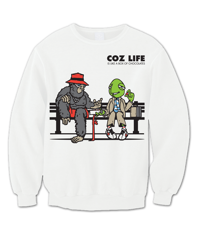 Men's Coz Life DeeCandyman Collab Crewneck - Online Headshop Smoke Shop