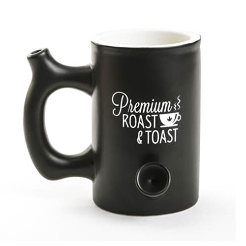 Purchase Special Discount Coffee Mug With Pipe On Sale - Online Headshop Smoke Shop