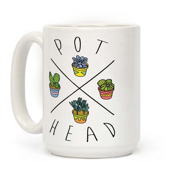 Buy Pot Head Ceramic Coffee Mug Pipe by LOOKHUMAN - Online Headshop Smoke Shop