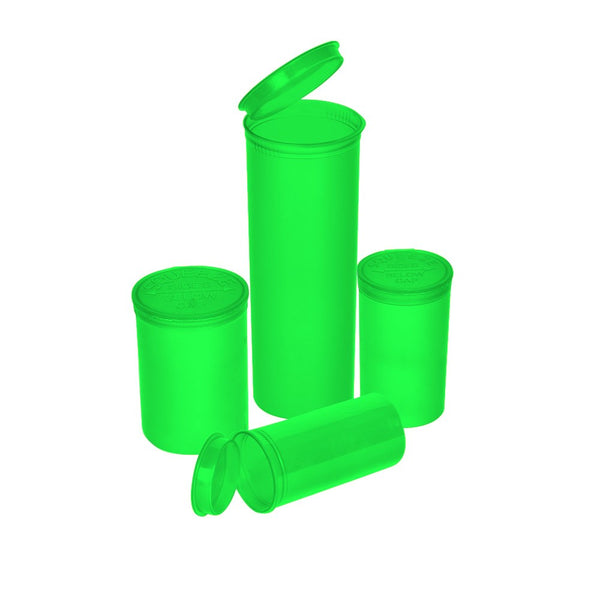 3 Inch Plastic Green Squeeze Top Bottle - Online Headshop Smoke Shop