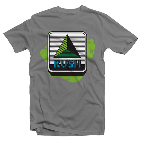 kush groove mens grey kush citgo tshirt on sale streetwear boston smoke shop
