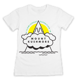 Women's Mount Kushmore T-Shirt - Online Headshop Smoke Shop